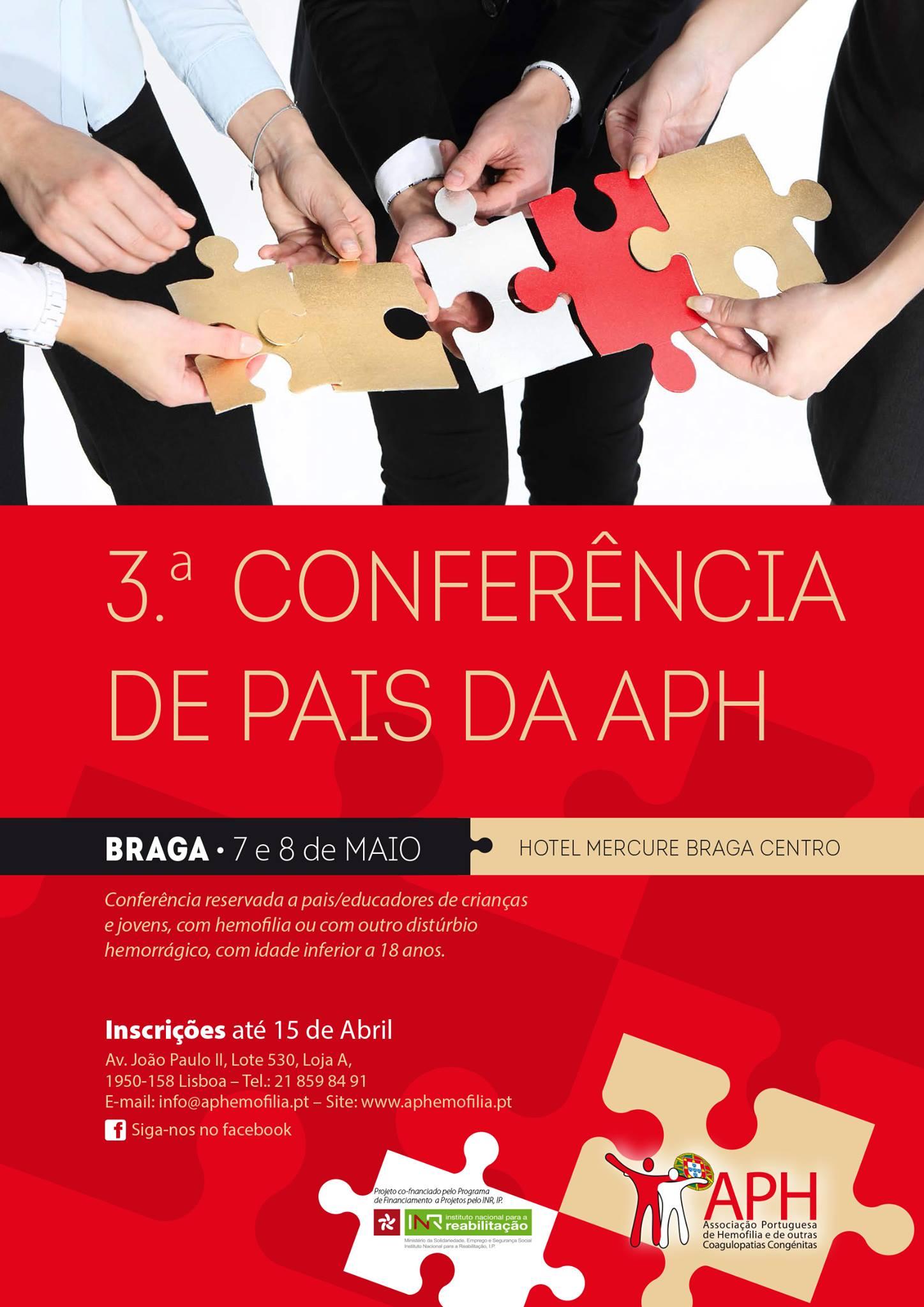 3ª Conferência de Pais da APH