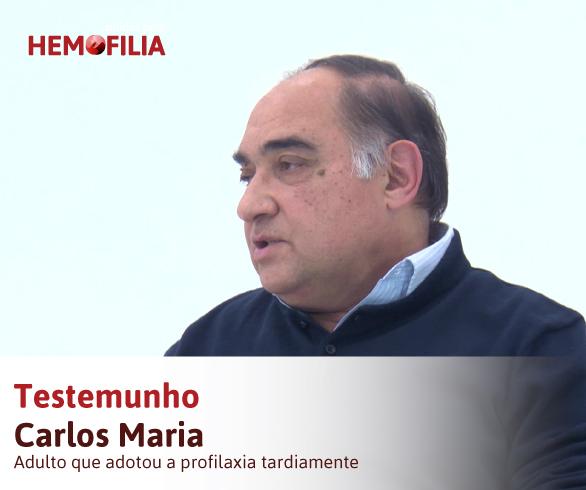 Testemunho Carlos Maria – Hemorragias Zero