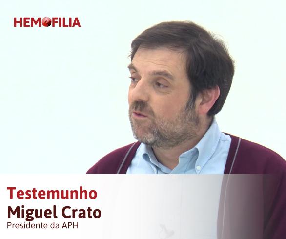 Testemunho Miguel Crato – Hemorragias Zero
